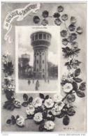 Carte Postale 59. Dunkerque  Malo  Chateau D'eau  Trés Beau Plan - Dunkerque