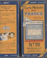 Carte Géographique MICHELIN - N° 076 AURILLAC - St ETIENNE N° 2645-23 - Roadmaps