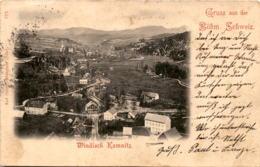 Gruss Aus Der Böhm. Schweiz - Windisch Kamnitz (171) * 1901 - Tchéquie