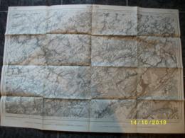 Carte Topographique De Marche (Hamois - Porcheresse - Leignon - Custinne) - Topographical Maps