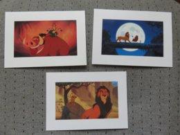 3 Cartes Postales Disney' Roi Lion - Disney