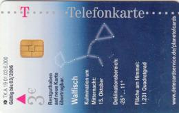 GERMANY - Sternbilder 5 - Walfisch ,Cetus, A 19/03 , 6.000 Tirage ,used - Duitsland