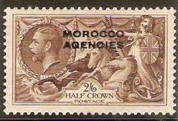 MOROCCO AGENCIES 1935 2s 6d SG 73 MOUNTED MINT Cat £55 - Oficinas En  Marruecos / Tanger : (...-1958