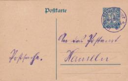 Postkarte 1925 - Deutschland