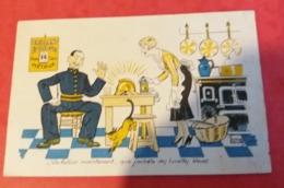 Cpa Illustrateur EDOUARD Bernard Brillant éclipe - Comics