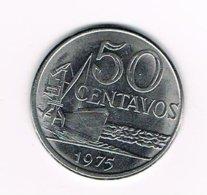 //  BRAZILIE  50 CENTAVOS  1975 - Brésil