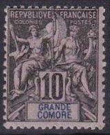 GRANDE COMORE - 10 C. Groupe Neuf TTB - Grande Comore (1897-1912)