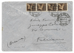 DALLA RUSSIA - P.M.202 - A FABRIANO - 31.10.1942. - 1900-44 Victor Emmanuel III