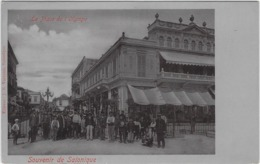 SALONIQUE, TURQUIE, 1905, LA PLACE DE L'OLYMPE - Turquie