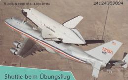 GERMANY - Eroberung Des Weltraums: Shuttle Beim Übungsflug (Space Plane), O 2998-12/94 , Tirage 4.000 ,mint - Duitsland