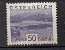 Osterreich - Austria = 1929 Yvert 386 Rare MH Stamp - 1918-1945 1. Republik