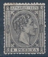 CU38-L3539.España . Spain.Espagne.CUBA   ESPAÑOL .Alfonso Xll.1876.(Ed 38**) Sin Charnela.MAGNIFICO - Cuba (1874-1898)