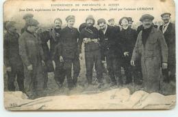Expériences De Parachute A JUVISY - Jean Ors, Expérimente ... Par L'Aviateur Lemoine - ELD - Juvisy-sur-Orge