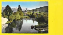 ANNECY Pêcheur Au Canal Du Thiou Tournette Monastère (Tele) Haute Savoie  (74) - Annecy