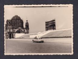 Photo Originale Vintage Snapshot  Voiture Citroen DS Berlin - Automobiles