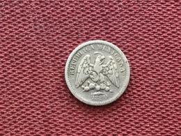 MEXIQUE Monnaie De 5 Centavos 1890 - Mexique