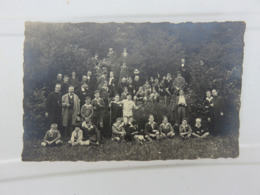 FERRIERES - SY - PRETRES - ECOLE -  1926 - PHOTO CARTE - CURE - Foto