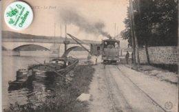 78 - Très Belle Carte Postale Ancienne De   LES MUREAUX   Le Port - Les Mureaux