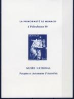 """A L'OCCASION DE PHILEXFRANCE 89 EMISSION D'UNE CP """" Poupées Et Automates D'Autrefois """" - Commemorative Labels"""