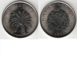 Gambia 25 Bututs 1998 Km 57  Unc !!!! - Gambie