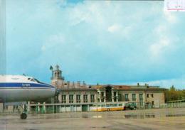C8739 - Kasan - Flughafen Aeroport - Flugzeug TU 124 - Ikarus Bus - Aerodrome