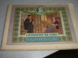 ALBUM DISEGNO LEONARDO DA VINCI - Diploma & School Reports