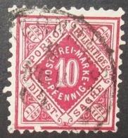 N°1565B TIMBRE ANCIENS ETATS WURTTEMBERG OBLITERE - Wurttemberg
