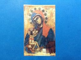 Santino Holy Card Image Pieuse MADONNA DEL PILERIO COSENZA - Santini