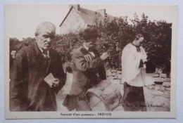Cpa Trévou, Souvenir D'une Procession, Garde Champêtre, Trévou-Tréguignec, Photo Le Bihan, Penvénan, Côtes D'Armor - Autres Communes
