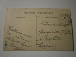 48 Lozère. Puylaurent - Son De La Bastide. Cachet Pointillé 1913 (A6p63) - Cachets Manuels