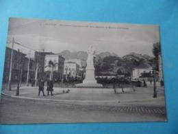 CPA  -  MANTON - Monument Commémoratif De La Réunion De Menton à La France - Menton
