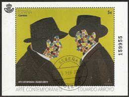2018-ED. 5209 - Arte Contemporáneo. Eduardo Arroyo-USADO - Blocchi & Foglietti