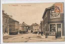 Ransart  (65a)  Imprimerie Sur Coin De Rue , Et La   Barrière Du Passage A Niveau Ferme (Marco) - Charleroi