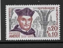 Yvert 1370 Maury 1370 - 20 C + 10 C Amyot -  ** - Unused Stamps