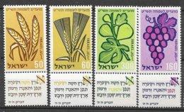 Israël N° 141  à  144  Avec Tabs  Neufs  * * TB  = MNH VF    Soldé ! ! !     Le Moins Cher Du Site ! ! ! - Israel