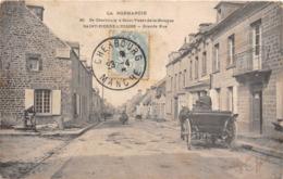 50-SAINT-PIERRE-L'EGLISE - GRANDE RUE - Saint Pierre Eglise
