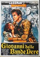 """CINEMA - Affichette Du Film """" GIOVANNI DALLE BANDE NERE """" Réalisé Par Sergio Grieco , Sorti En 1956 - TBE - Manifesti & Poster"""