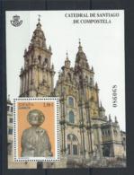 Espagne Bloc N° 211** (MNH) 2012 - Cathédrale De Saint Jacques De Compostelle - 2011-... Unused Stamps