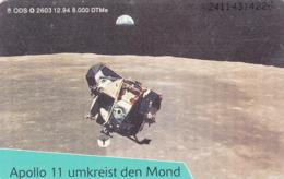 GERMANY - Eroberung Des Weltraums: Apollo 11 Umkreist Den Mond (1), O 2603-12/94 , Tirage 8.000 ,used - Duitsland