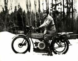 BMW VICTORIA +-24cm X 16cm  Moto MOTOCROSS MOTORCYCLE Douglas J Jackson Archive Of Motorcycles - Photos