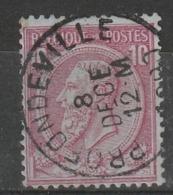 COB N° 46 Obl. Profondeville 1890 - 1884-1891 Léopold II