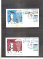 Parachutisme - FDC Belgique - 1960 - Série Complète (à Voir) - Parachutting