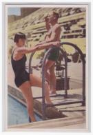 DT- Reich (001633) Olympia 1932 Sammelbild Nr. 116, Olga Jordan Die Deutsche Vertreterin Im Damen- Kunstspringen Wurde 4 - Ete 1932: Los Angeles
