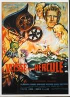 """CINEMA - Affichette Du Film """" ULYSSE Contre HERCULE """" Réalisé Par Mario Caiano Avec Georges Marchal ,Sorti En 1962 - TBE - Manifesti & Poster"""