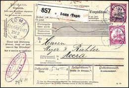 Beleg Deutsche Kolonien Togo - Francobolli