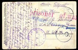 Beleg Deutsche Marine Schiffspost Interniertenpost 1914-1919 - Stamps