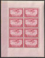 .CONGO BELGE - Feuillet De 6 Timbres PA  N°8 ** (1934) Avions - Congo Belge