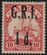 ~~~ Deutsche Kolonien Samoa GRI 1914 - Kaiseryacht - Mi. 3 ** MNH Postfrisch - CV 260 Euro ~~~ - Colony: Samoa