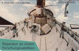 GERMANY - Eroberung Des Weltraums: Reparatur Am Forschungssatelliten, O 2999-12/94 , Tirage 4.000 ,used - Duitsland