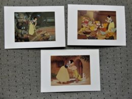 3 Cartes Postales Disney' Blanche Neige - Altri